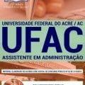 Apostila Concurso UFAC 2019 PDF – Assistente em Administração