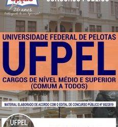 Apostila Concurso UFPEL 2019 PDF