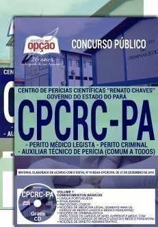 Apostila Concurso Cpcrc Pa 2019 Pdf E Impressa Do Pará
