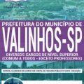 Apostila Concurso Prefeitura de Valinhos 2019