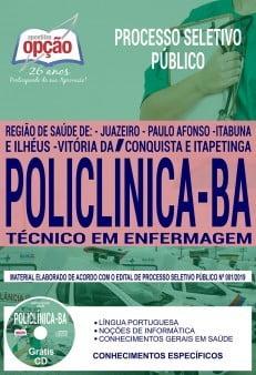Apostila Policlínica De Itabuna E Ilhéus Ba 2019