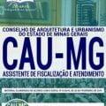 Apostila CAU MG 2019 PDF – Assistente de Fiscalização e Atendimento