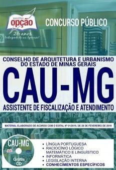 Apostila Cau Mg 2019 Pdf Assistente De Fiscalização E Atendimento
