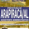 Apostila Processo seletivo Prefeitura de Arapiraca 2019 PDF