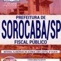 Apostila Sorocaba SP 2019 PDF – Fiscal Público