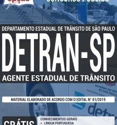 Apostila Concurso DETRAN SP 2019 Download