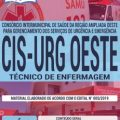 Apostila Concurso CIS URG OESTE 2019 PDF