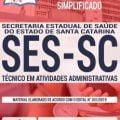 Apostila Concurso SES SC 2019 – Atualizada – Download Apostila