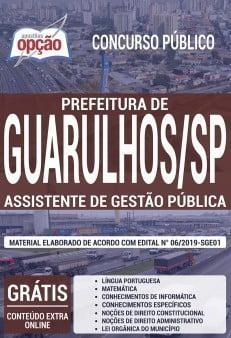 Apostila Prefeitura De Guarulhos 2019 Download Apostila