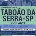 Apostila Concurso Câmara Municipal de Taboão da Serra 2019