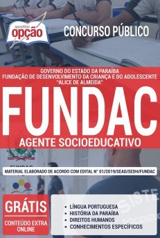 Apostila Concurso Fundac Pb 2019 Pdf