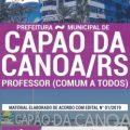 Apostila Prefeitura de Capão da Canoa 2019 PDF