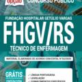 Apostila Fhgv-Rs 2020 – Técnico Em Enfermagem