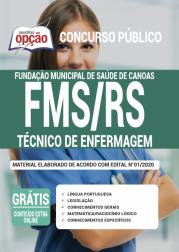 Apostila Fms Rs 2020 Técnico De Enfermagem