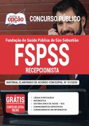 Apostila Fspss Sp 2020 Recepcionista