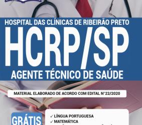 Apostila HCRP-SP 2020 – Agente Técnico de Saúde