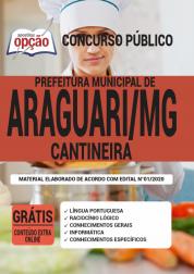 Apostila Prefeitura De Araguari Mg 2020 Cantineira