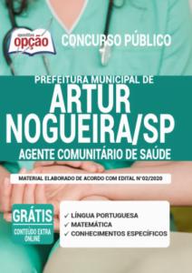 Apostila Prefeitura De Artur Nogueira Sp 2020 Agente Comunitário De Saúde
