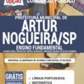 Apostila Prefeitura de Artur Nogueira – SP 2020 – Ajudante Geral, Servente de Limpeza, Encanador, Jardineiro, Mecânico de Autos e Pedreiro
