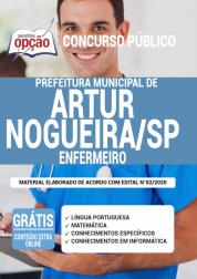 Apostila Prefeitura De Artur Nogueira Sp 2020 Enfermeiro