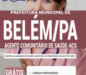 Apostila Prefeitura De Belém – Pa 2020 – Agente Comunitário De Saúde