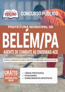 Apostila Prefeitura De Belém Pa 2020 Agente De Combate à Endemias Ace