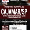 Apostila Prefeitura De Cajamar-Sp 2020 – Guarda Civil Municipal Terceira Classe (Feminino E Masculino)
