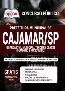 Apostila Prefeitura De Cajamar Sp 2020 Guarda Civil Municipal Terceira Classe Feminino E Masculino