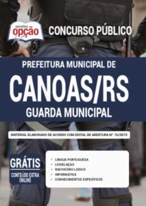 Apostila Prefeitura De Canoas Rs 2020 Guarda Municipal