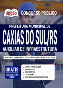 Apostila Prefeitura De Caxias Do Sul Rs 2020 Auxiliar De Infraestrutura