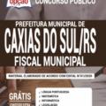Apostila Prefeitura De Caxias Do Sul-Rs 2020 – Fiscal Municipal