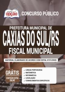 Apostila Prefeitura De Caxias Do Sul Rs 2020 Fiscal Municipal