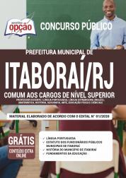 Apostila Prefeitura De Itaboraí Rj 2020 Comum Aos Cargos De Nível Superior