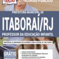 Apostila Prefeitura de Itaboraí -RJ – 2020 – Professor da Educação Infantil
