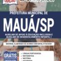 Apostila Prefeitura De Mauá – Sp 2020 – Auxiliar De Apoio À Educação Inclusiva E Auxiliar De Desenvolvimento Infantil I