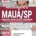 Apostila Prefeitura De Mauá – Sp 2020 – Comum Aos Cargos De Nível Fundamental