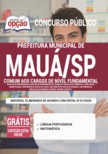 Apostila Prefeitura De Mauá Sp 2020 Comum Aos Cargos De Nível Fundamental