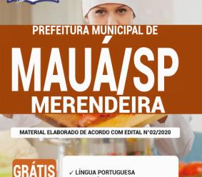 Apostila Prefeitura De Mauá – Sp 2020 – Merendeira