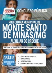 Apostila Prefeitura De Monte Santo De Minas Mg 2020 Auxiliar De Creche