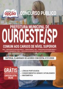 Apostila Prefeitura De Ouroeste Sp 2020 Comum Aos Cargos De Nível Superior