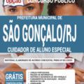 Apostila Prefeitura De São Gonçalo – Rj 2020 – Cuidador De Aluno Especial