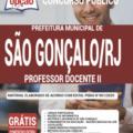 Apostila Prefeitura De São Gonçalo – Rj 2020 – Professor Docente Ii