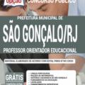 Apostila Prefeitura De São Gonçalo – Rj 2020 – Professor Orientador Educacional