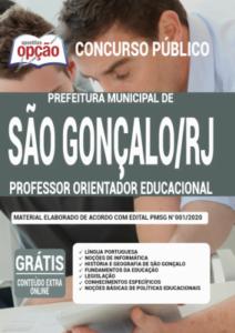 Apostila Prefeitura De São Gonçalo Rj 2020 Professor Orientador Educacional