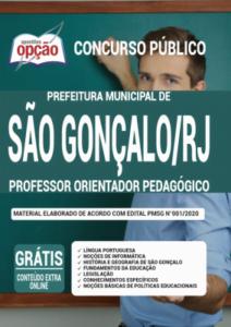 Apostila Prefeitura De São Gonçalo Rj 2020 Professor Orientador Pedagógico