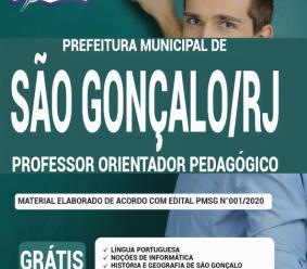 Apostila Prefeitura De São Gonçalo – Rj 2020 – Professor Orientador Pedagógico
