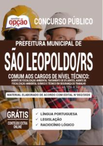 Apostila Prefeitura De São Leopoldo Rs 2020 Comum Aos Cargos De Nível Técnico