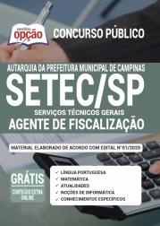 Apostila Setec Sp 2020 Agente De Fiscalização