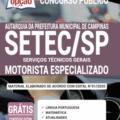 Apostila Setec-Sp 2020 – Motorista Especializado