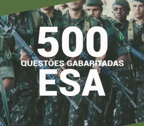 Caderno de Questões ESA 2020 – 500 Questões Gabaritadas